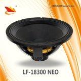 Neomagnet 18inch PA-Lautsprecher, der 2000W handhabt