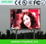 Indicador de diodo emissor de luz fixo ao ar livre da instalação de HD P6 SMD/diodo emissor de luz video do painel de Wall/LED que anuncia a placa