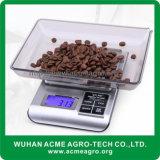 Met de hand gemaakte Koffie die Elektronische Schalen meten