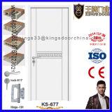 Hochwertige weiße Farbanstrich-Farben-Haupteintrag-Holz-Tür