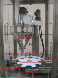 Máquina de rellenar en botella rotatoria automática del polvo de la proteína
