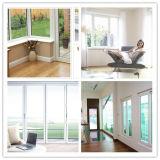Doppeltes Glasflügelfenster Windows der Schwingen-Öffnung Belüftung-Tür-UPVC Windows