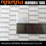 Etiqueta engomada inalterable destructible de encargo de la seguridad NFC de la talla Ntag215