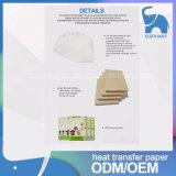 Papier bon marché de presse de la chaleur de transfert de sublimation de T-shirt de qualité des prix