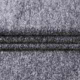 Tessuti Mixed delle lane con i doppi lati nel nero