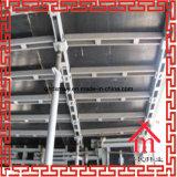 Formwork가 콘크리트 널판에 의하여 빛난다