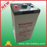 bateria estacionária para telecomunicações, sistema solar do AGM de 2V 300ah