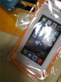 Sacchetto impermeabile del sacchetto del telefono della casella del telefono con la fascia chiara riflettente