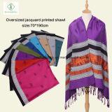 fashion Pashmina Shawl 네팔 숙녀 연약한 코끼리에 의하여 인쇄되는 스카프
