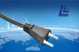 Brasilien-Art-Extensions-Netzkabel-Stecker