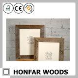 Decorazione di legno di eleganza della cornice della foto di triplo 2
