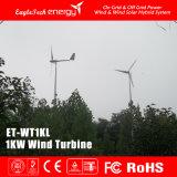 1kw de Generator van de Wind van de Turbine van de Wind van het Systeem van de Macht van de wind voor Huis