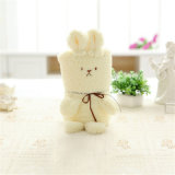 Baby Cover Blanketwith Rabbit Toy for Kids Play