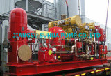 Dieselfeuer-Pumpe, durch Laufwerk-Dieselmotor