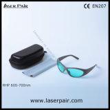 프레임 55를 가진 635nm, 650nm, 694nm 빨간 Ruby 레이저 안전 유리 Laser 보호 Eyewear의 유형을