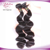 Cheveux humains indiens de pleine Vierge libre de cuticle d'embrouillement de cheveu ondulé