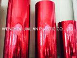 Твердая металлизированная пленка покрытия PVC пленки PVC/покрывая алюминием пленка для украшений