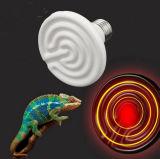 Emissor infravermelho distante do calefator da placa cerâmica do ponto da tartaruga do animal de estimação do réptil da lâmpada da radiação infravermelha