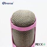 El micrófono sin hilos KTV de la fábrica manejó el micrófono vocal de Bluetooth del artista con el altavoz