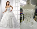 Neues Ankunfts-Ballkleid-Brauthochzeits-Kleid mit Hülsen