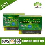 緑のコーヒーの細く