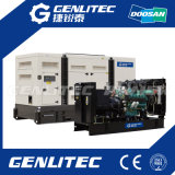 Van de Diesel Doosan van Genlitec 520kw/650kVA 50Hz de Prijs Reeks van de Generator (P222FE)