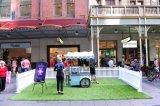 Italienische Gelato Eiscreme-Karren für Verkauf (CER)