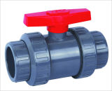 PVDF는 조합 공 벨브 (Q61F-6F) 두 배 조합 공 벨브를 조정한다