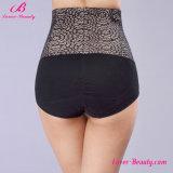 Blendung-schwarzer Blumendruck-Kolben-Aufzug Panty für Damen