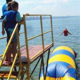 Gota inflable del agua, lanzamiento de la catapulta del agua, juguetes inflables del agua