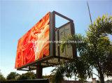 Pantalla de visualización doble de LED de la cara de Shenzhen P10 para el anuncio al aire libre