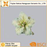 Ornamento chinês da flor da porcelana do fornecedor