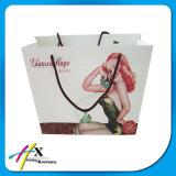 Presente reciclado Custom impresso saco de papel