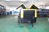 Compresores impulsados por motor eléctricos montados/portables del patín del tornillo de aire (punto bajo, presión media etc)