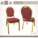 宴会の椅子(JY-L159)をスタックするホテルのレストラン