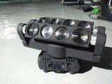 8 *10W RGBW 4in1 horizontal LED bewegliches Hauptarmkreuz