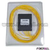 Splitter PLC низкого волокна Pdl оптически с коробкой 1X8 ABS