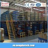 Crémaillère de mezzanine avec des étagères de grenier de glissière de sécurité