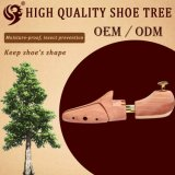 Los tubos normales del cedro dos del diseño venden al por mayor el árbol del zapato de la insignia