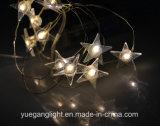 2017 Mini LED Christmas Copper Light avec fleur / Snowman / Crutchfor Decoration Outdoor Use