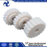 Polea de sincronismo plástica de nylon del estante de engranaje para la máquina
