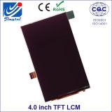 WVGA 4.0inch Tn TFT Zte 이동할 수 있는 LCD