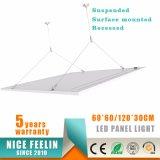 600*600mm 36W 100lm/W het Hangen het LEIDENE van de Installatie Licht van het Comité