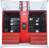 Sc200/200 건축 호이스트 두 배 감금소 건축 엘리베이터