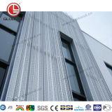 Comitato di alluminio perforato rivestito della polvere di Globond