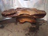 Mesa de café da raiz de escultura geral natural