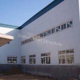 Construction portique d'entrepôt de structure métallique de lumière de bâti avec le meilleur plan