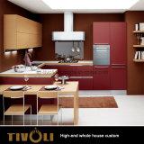Muebles caseros enteros Tivo-091VW de la pequeña cocina barata de la melamina