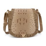 Aileron avec le sac de Crossbody de messagère de femmes de marque privée
