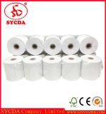 Rodillo especializado del papel termal del precio bajo de la pasta de madera